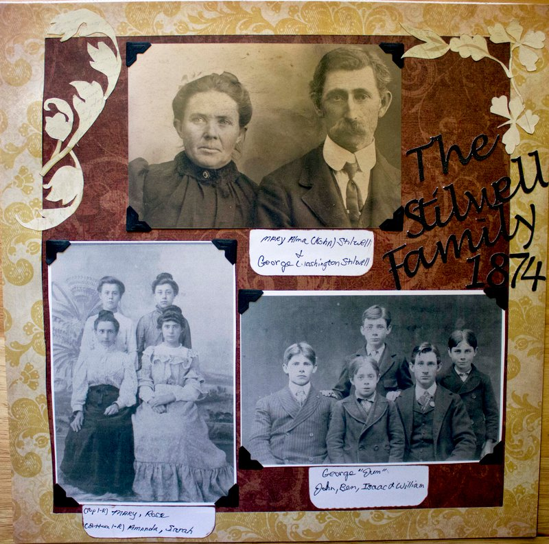 The Stilwell Family 1874