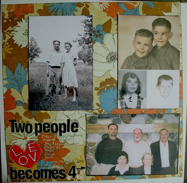 Two people loves becomes 4