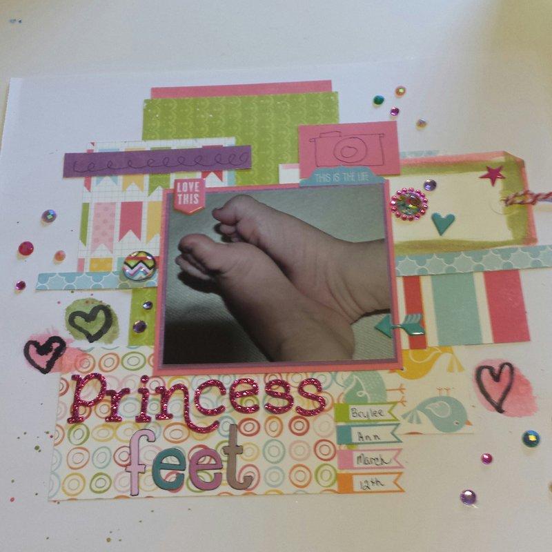 Princess feet