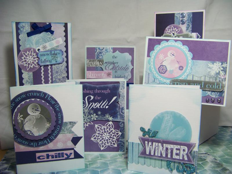 Moxxie Winterland collection Card Set