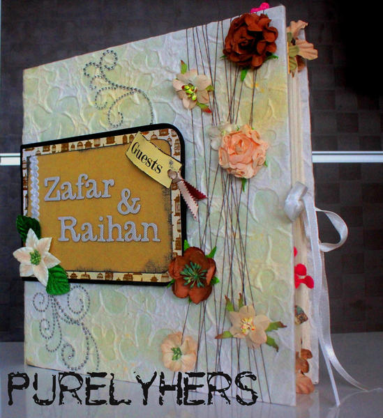 """Zafar & Raihan - Wedding Guestbook"" by Kiara"