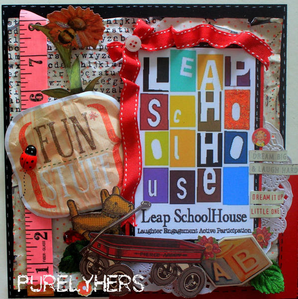 """All the fun stuff"" at LeapSchoolhouse.."