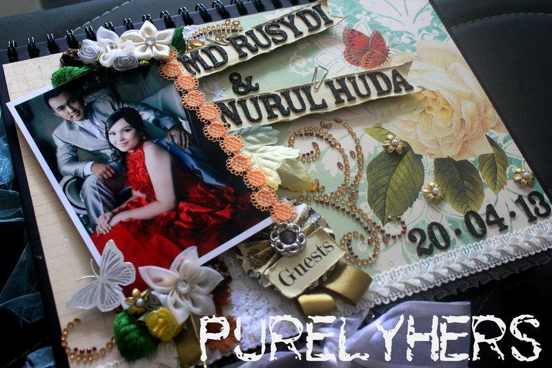 Wedding Guestbook for Md Rusydi & Nurul Huda