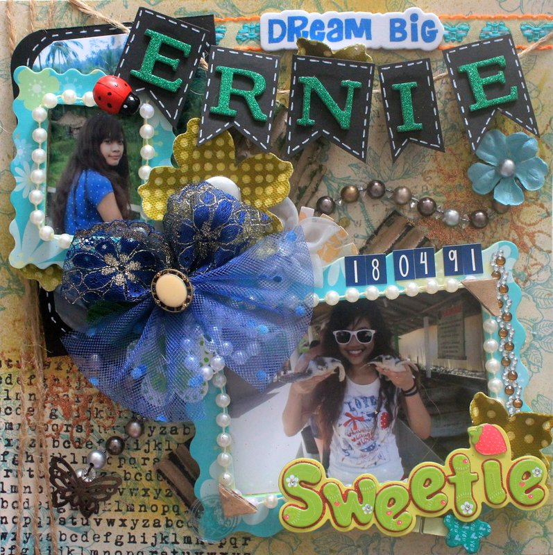 """""""Dream Big"""" for lovely Ernie"""