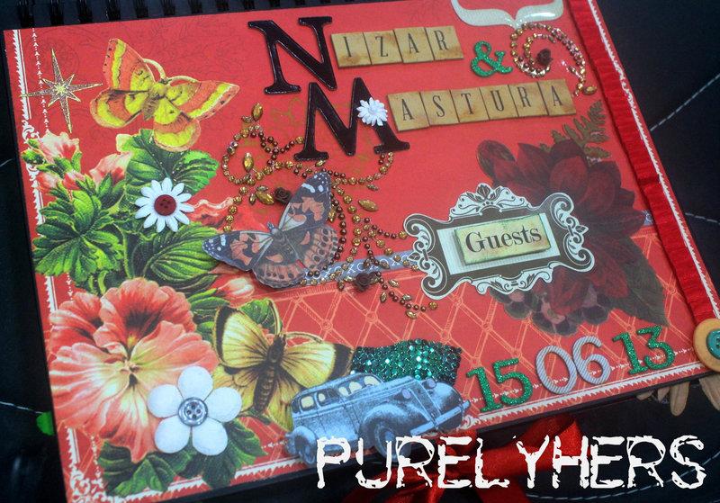 Guest book for Nizar & Mastura