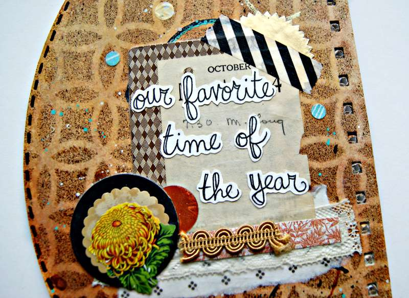 Fall Art journal (inside cover)