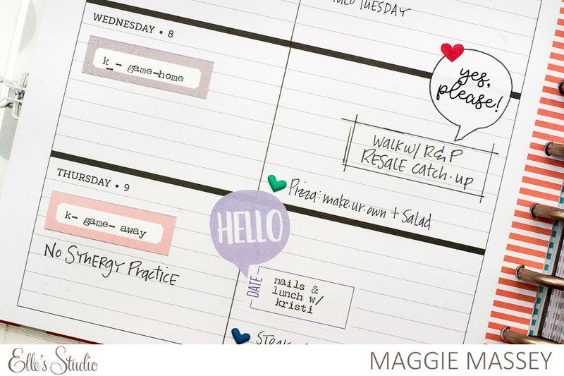 Planner Spread - February 6-12, 2017
