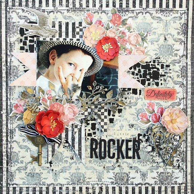Little Rocker ** Cést Magnifique kits**