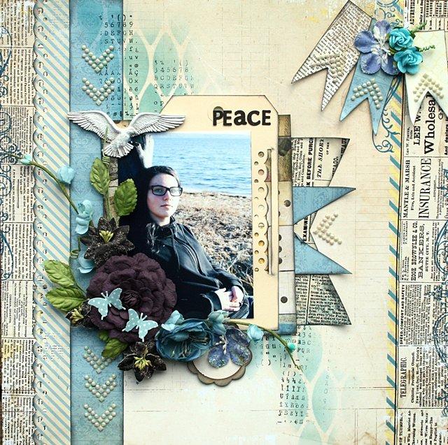 Peace ** Scraps of Elegance**