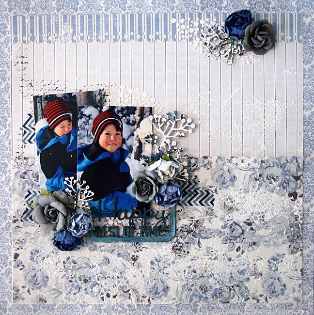 """Blue fern Studios """"happy, best of time"""""""