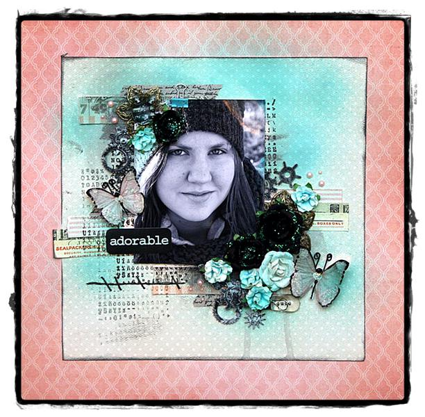 "Adorable *** Scraps of Elegance ""lovesong"" kit***"