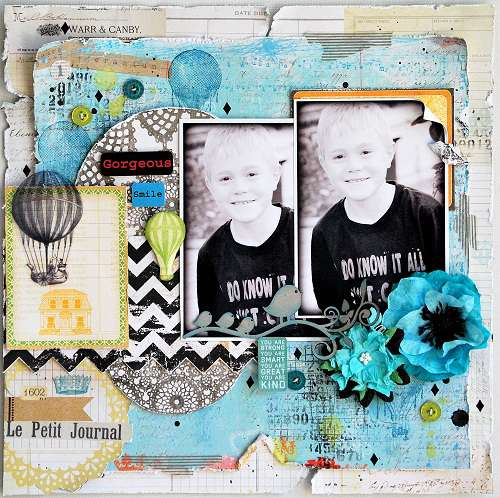 Gorgeous Smile * SCRAPS OF ELEGANCE October - Dreams of You  kit**