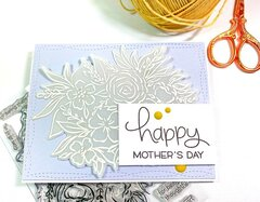 Heat Embossing on Vellum--Mother's Day