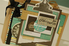 Mini Book Featuring 302 Collection from Farmhouse Paper Company