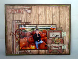 Pumpkins by Katie Piotrowski featuring Sugar Hill from Farmhouse Paper Company