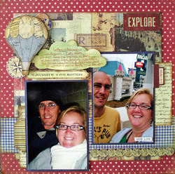 Exploer by Michelle Granger featuring Fair Skies from Farmhouse Paper Company