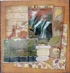 Fall in Ohio by Michelle Granger featuring Sugarhill from Farmhouse Paper Company