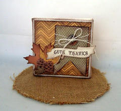 Give Thanks by Katie Piotrowski featuring Sugarhill from Farmhouse Paper Company