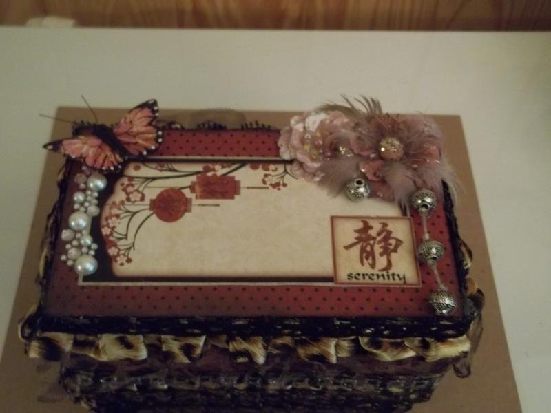 Asian theme altered box
