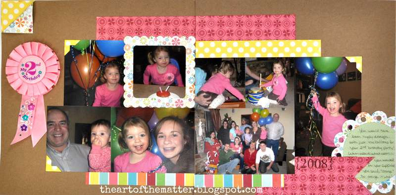 Sophia's 2nd Birthday