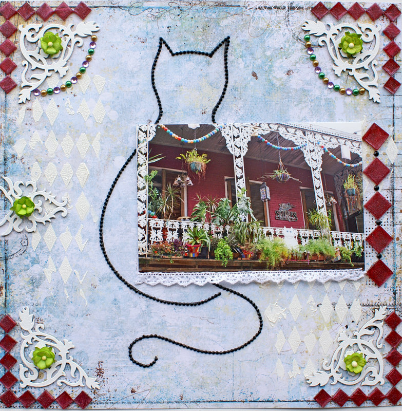 Delightful New Orleans Cat House