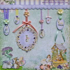 Easter's on its way - gorgeous Blue Fern Studios Spring Parade collection