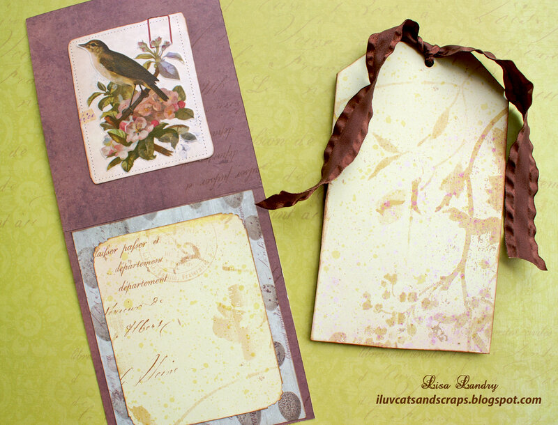 K&Company Flora & Fauna - Card and Tag Set (Bird)