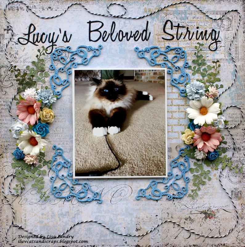 Lucy's Beloved String **Blue Fern Studios Fan of the Month**