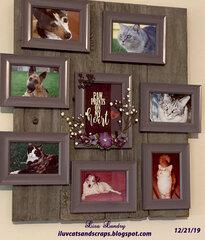 Pets Memorial - Centerpiece