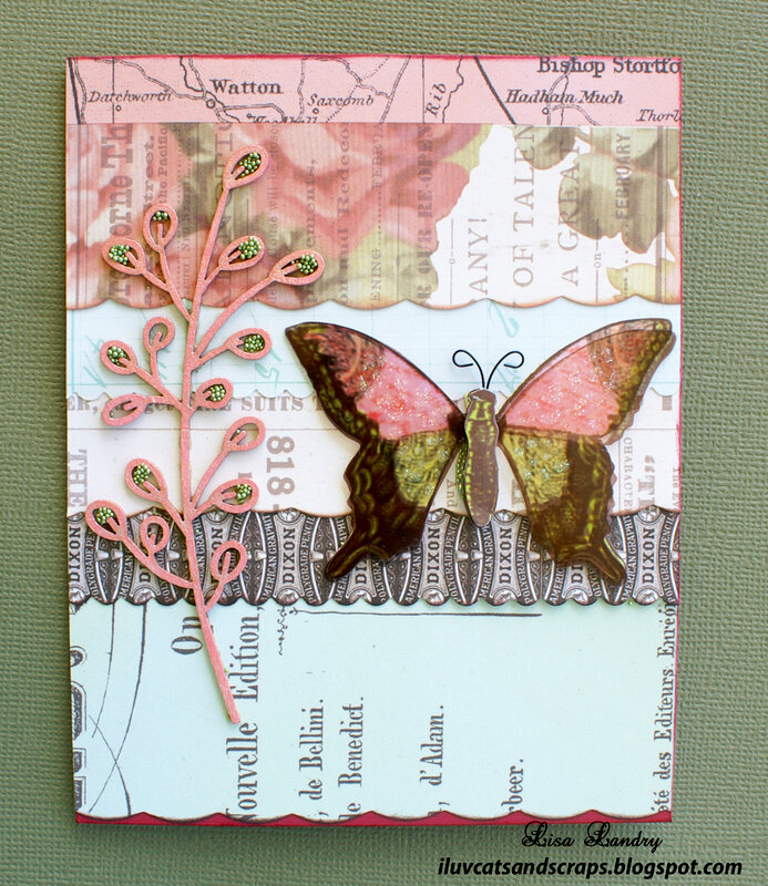 Pink Paislee - All Occasion Card