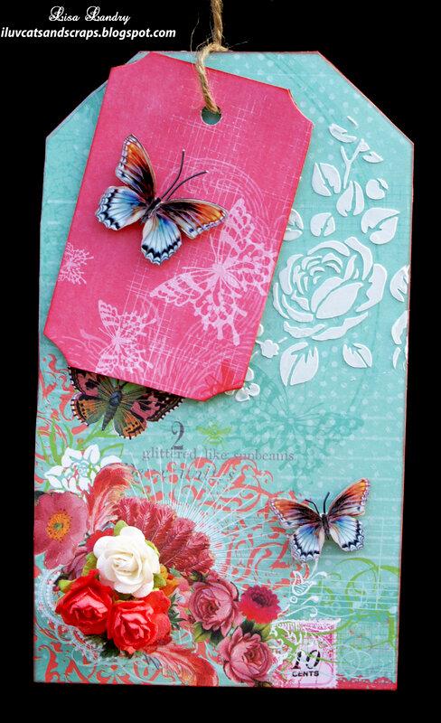 Pink Paislee - Spring Jubilee Tag
