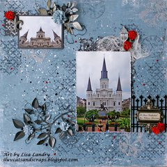 St. Louis Cathedral/Jackson Square ~ New Orleans, Louisiana