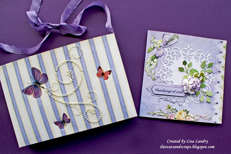 Thinking of You - card and pocket-envelope for a dear friend
