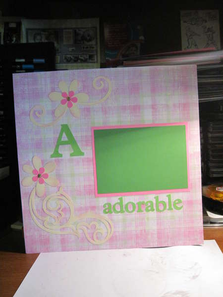 A is for Adorable page 1