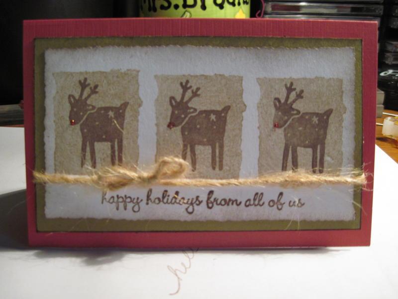 Christmas Reindeer 3x