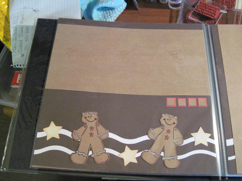 Gingerbread men for layout
