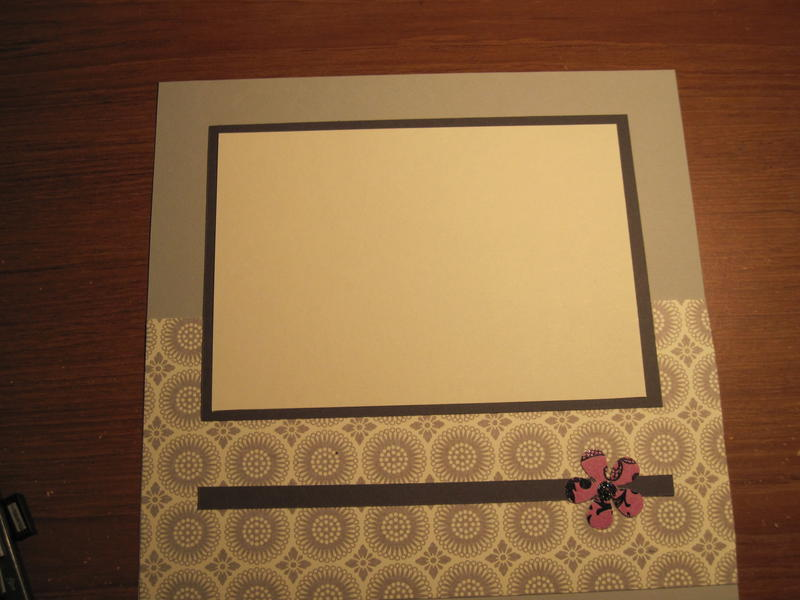 anoter page from black, grey, cream, purple album