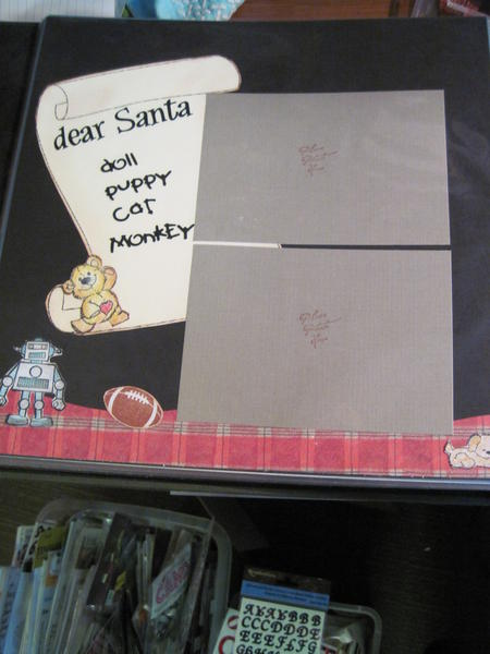letter to Santa layout