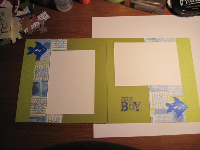 2 page layout MY boy