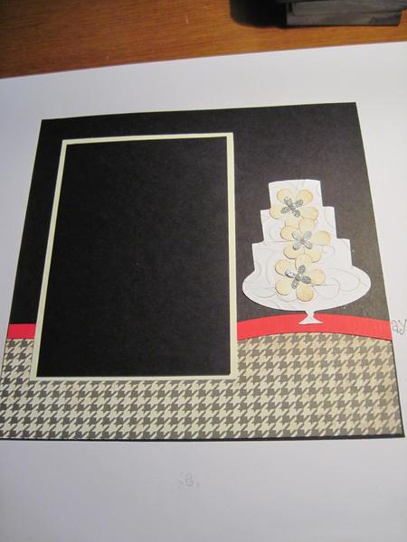 8 x 8 wedding layout