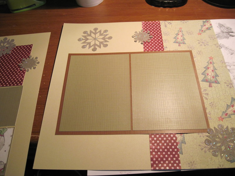 page 2 of Christmas layout for baby