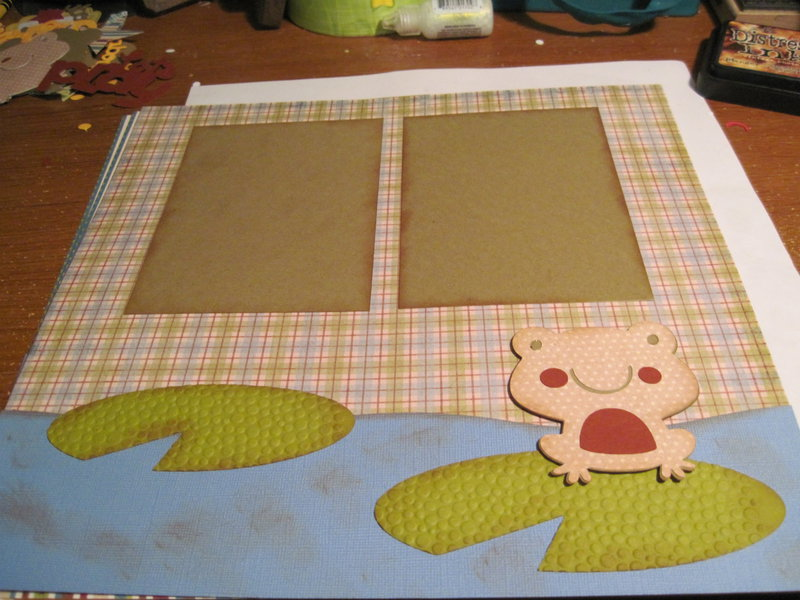 frog and ond layout