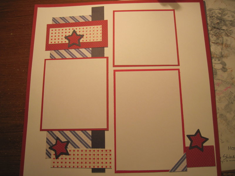 Red, White, and Blue layout