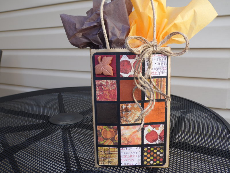 Collage Gift Bag