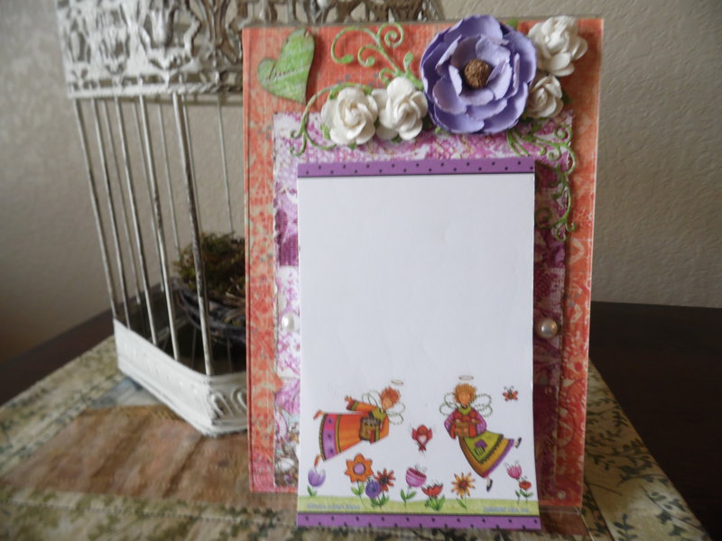 Acrylic Frame Notepad Holder