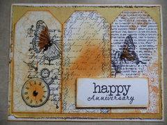 Happy Anniversary Tag Card