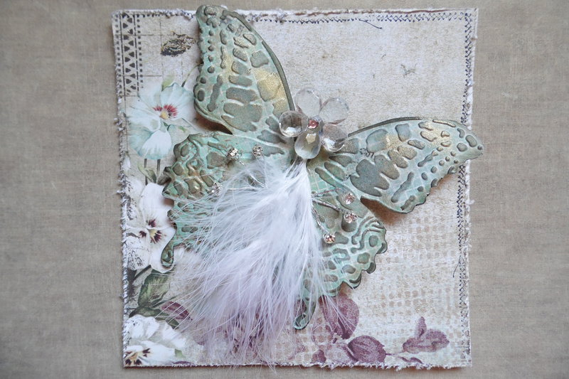 Feathered Butterfly