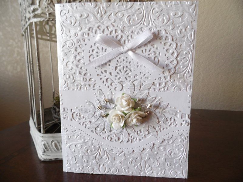 Simply Elegant~Wedding Card
