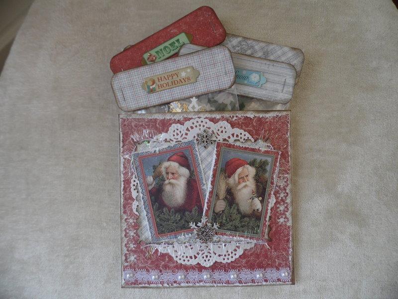 Christmas Die Cut Swap for Laura (LauralsAttic)