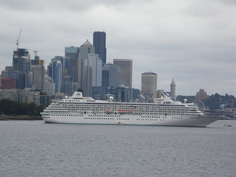 Ship leaving Seattle!